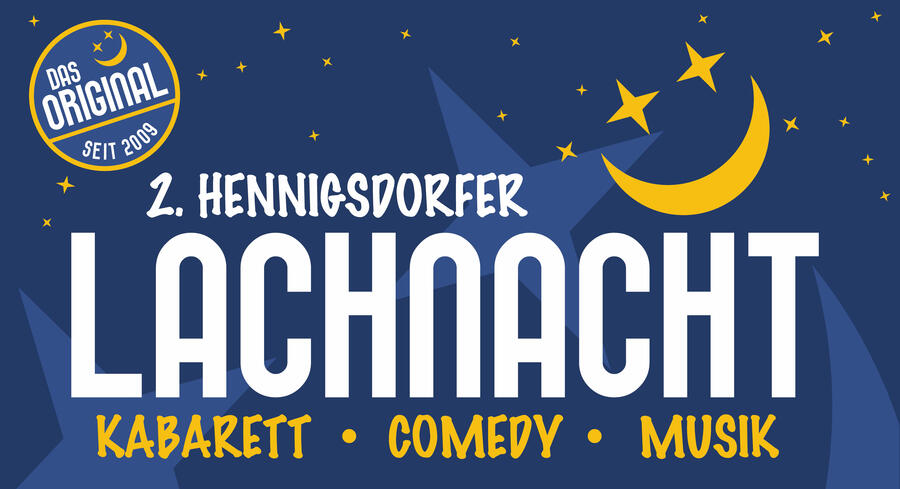 Plakat Lachnacht website