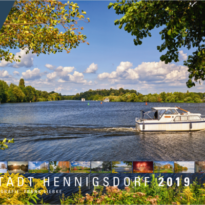 Bild vergrößern: Hennigsdorfer Wandkalender 2019