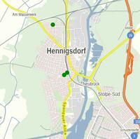 Map Henningsdorf